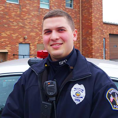 Bronson Lillo, community impact officer, Sandusky, OH