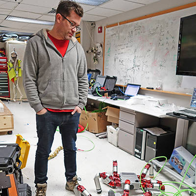 Matt Travers, Robotics researcher, Carnegie Mellon