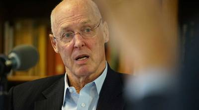 Former Treasury Secretary, Hank Paulson.